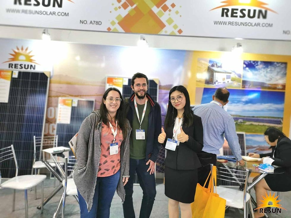 ResunSolar Successfully Attended 2019 Intersolar South America