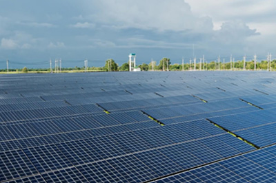 3.5 MW On Grid PV system installed in Lao's